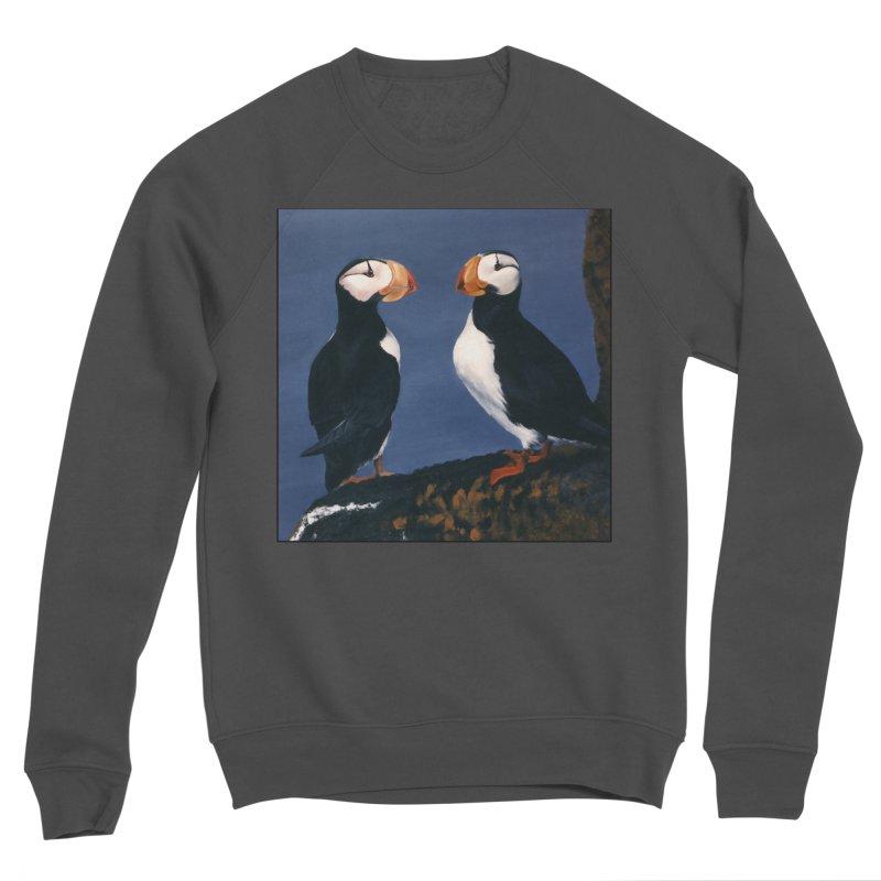 Two's Company Men's Sponge Fleece Sweatshirt by Ferine Fire