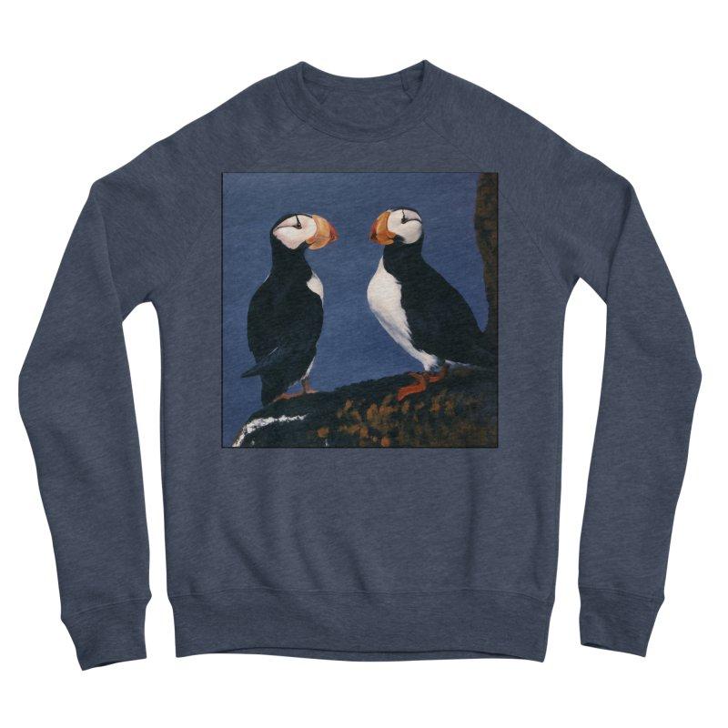 Two's Company Women's Sponge Fleece Sweatshirt by Ferine Fire