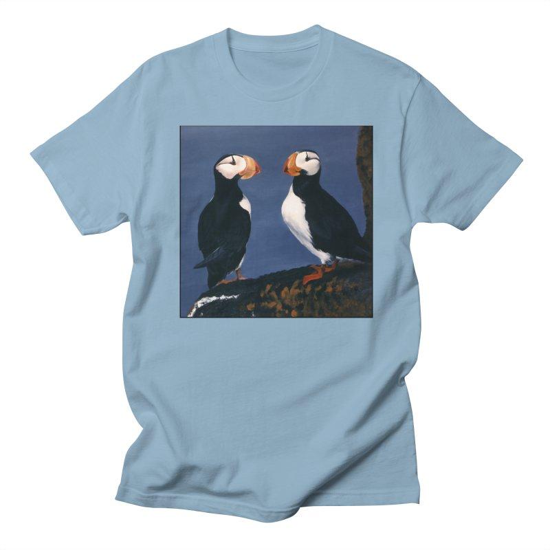 Two's Company Men's Regular T-Shirt by Ferine Fire