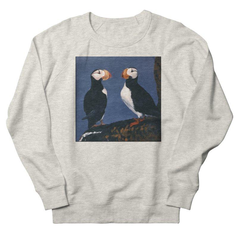 Two's Company Women's French Terry Sweatshirt by Ferine Fire