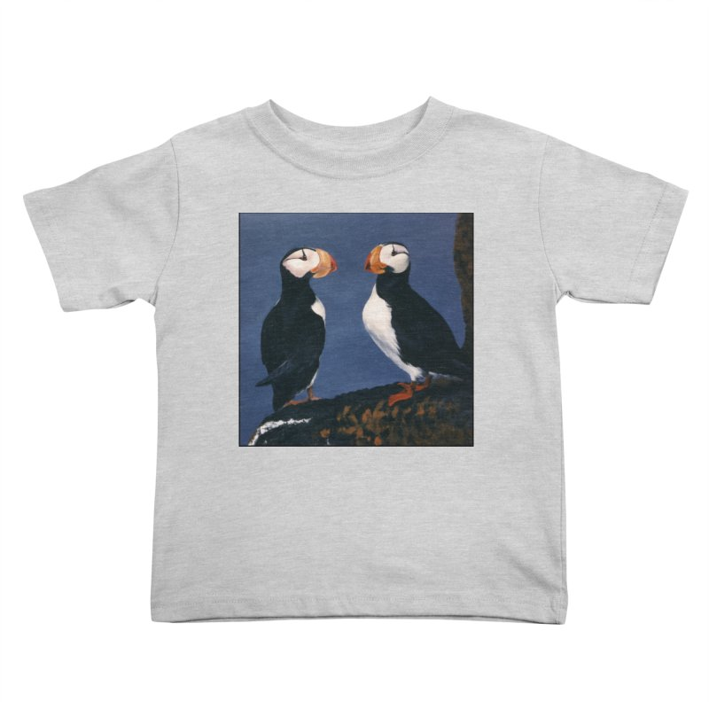 Two's Company Kids Toddler T-Shirt by Ferine Fire