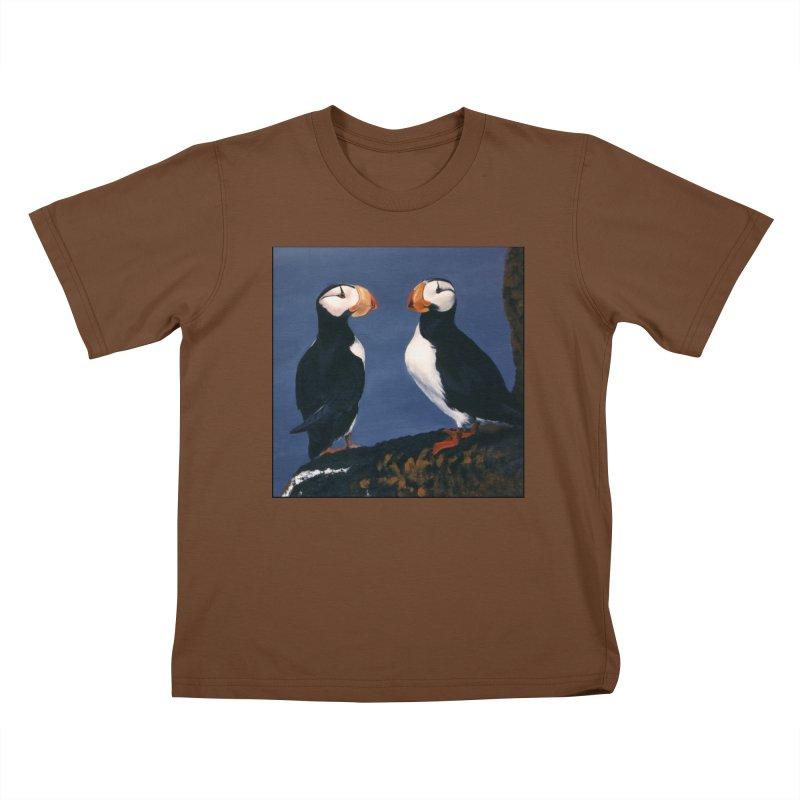Two's Company Kids T-Shirt by Ferine Fire