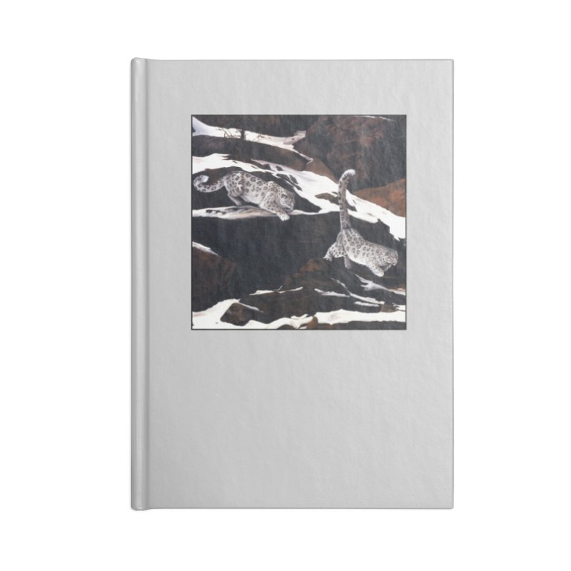 Cat Tails Accessories Lined Journal Notebook by Ferine Fire