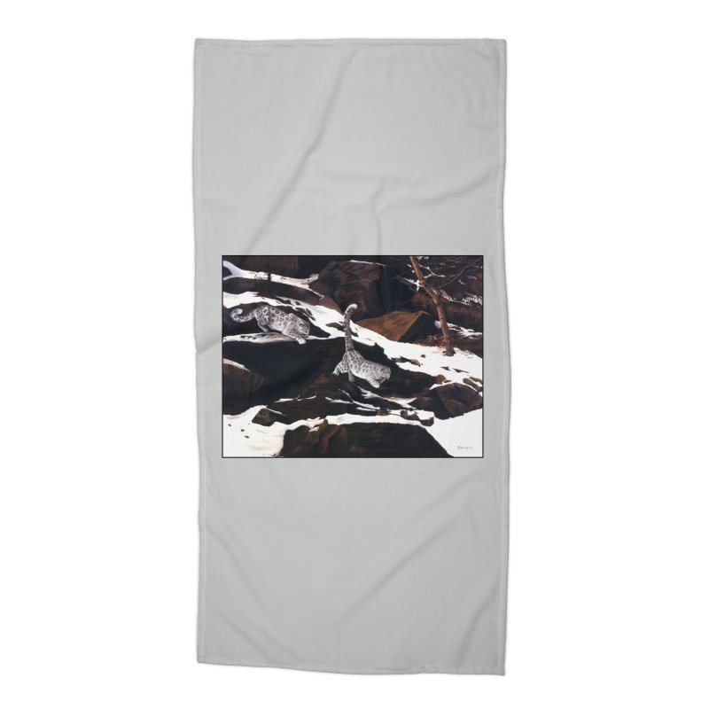 Cat Tails Accessories Beach Towel by Ferine Fire