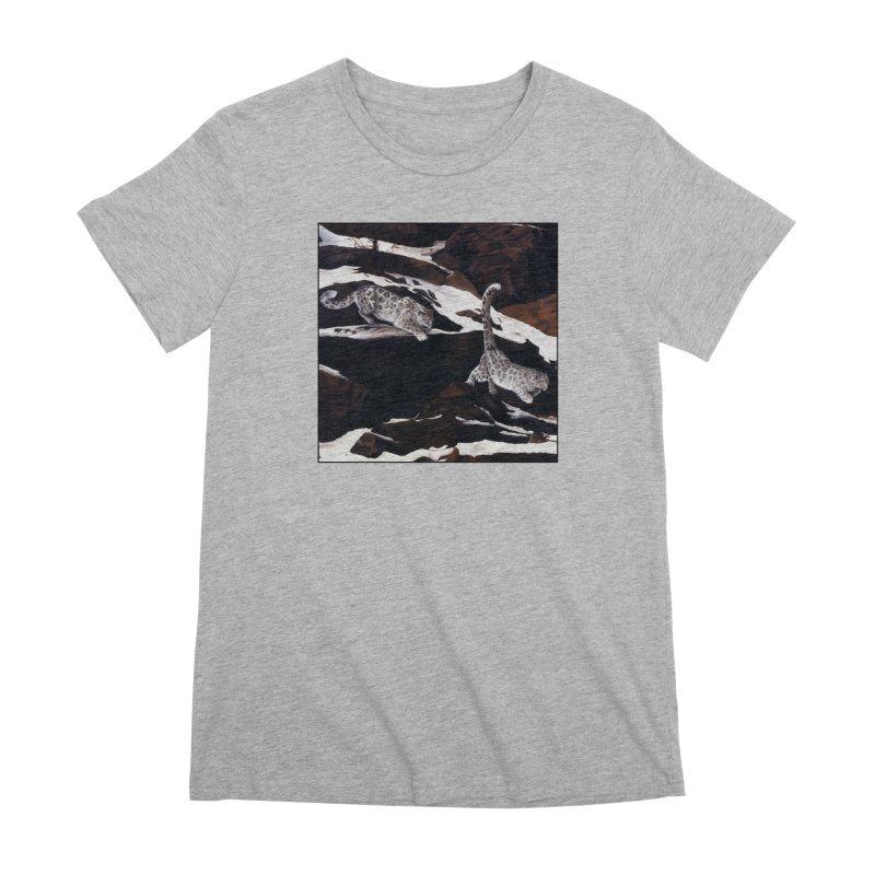 Cat Tails Women's Premium T-Shirt by Ferine Fire