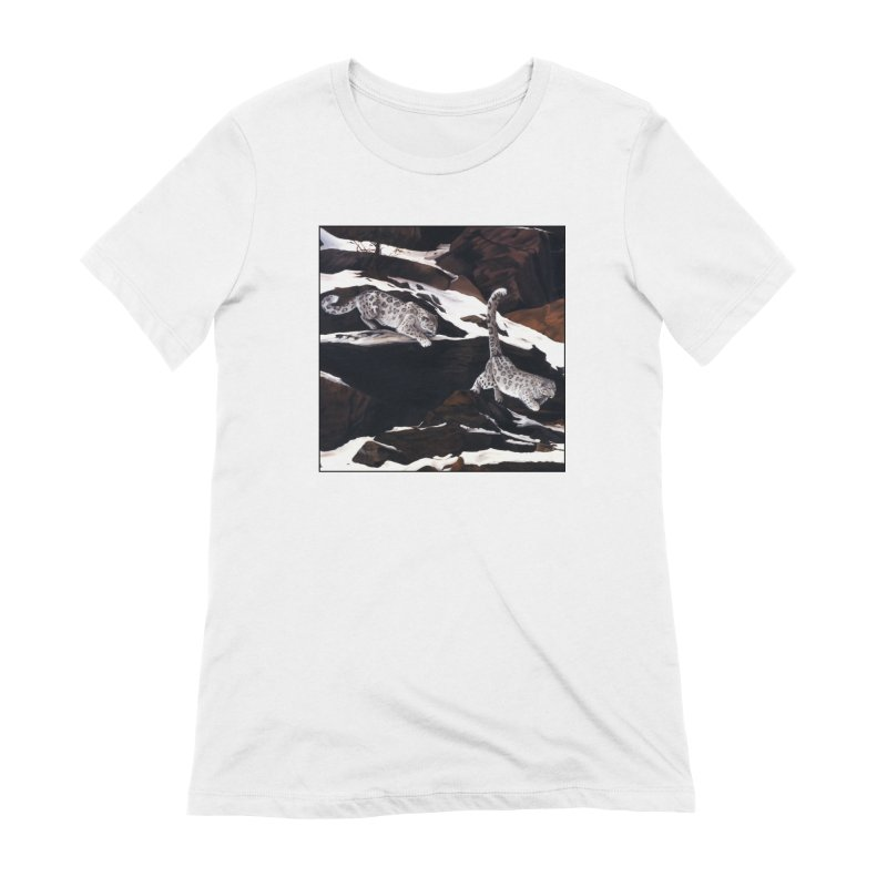 Cat Tails Women's Extra Soft T-Shirt by Ferine Fire