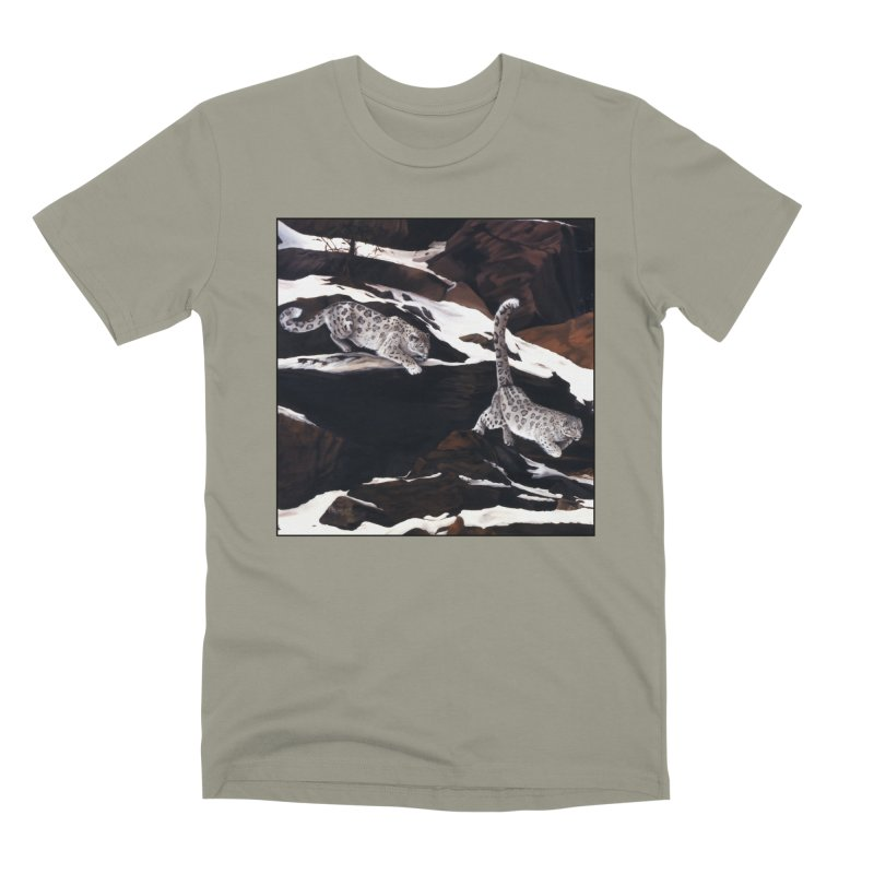 Cat Tails Men's Premium T-Shirt by Ferine Fire