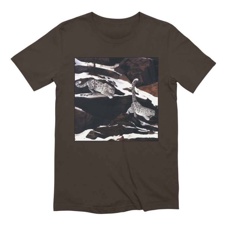 Cat Tails Men's Extra Soft T-Shirt by Ferine Fire