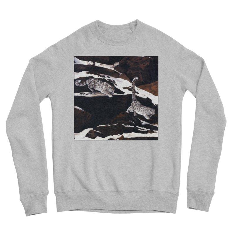 Cat Tails Men's Sponge Fleece Sweatshirt by Ferine Fire