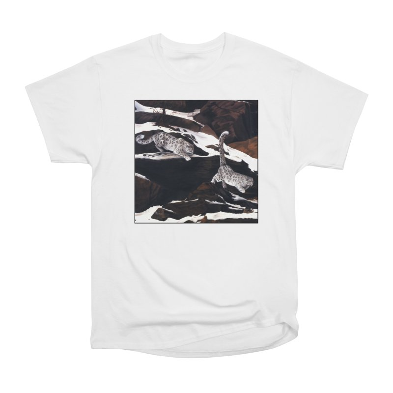 Cat Tails Men's Heavyweight T-Shirt by Ferine Fire