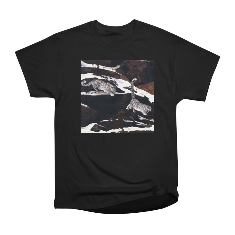 Cat Tails Men's Heavyweight T-Shirt by Ferine Fire