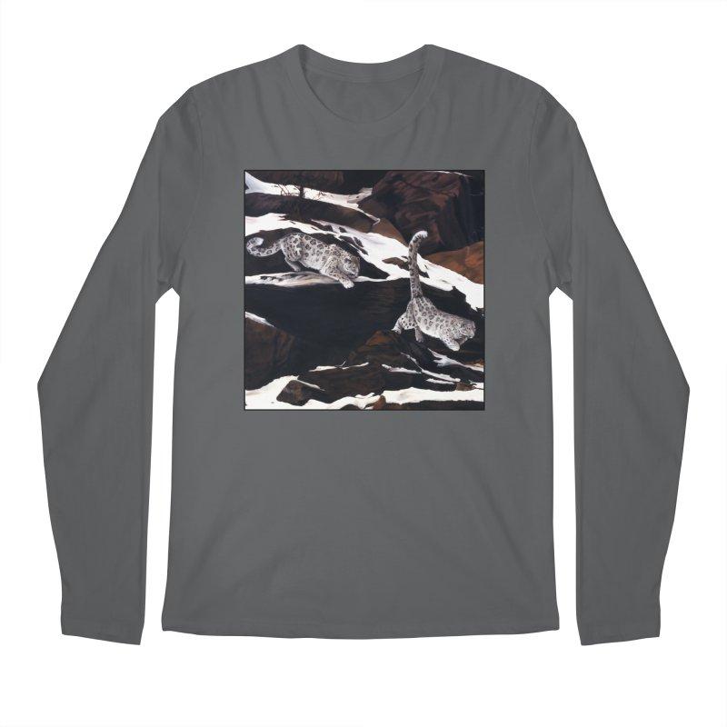 Cat Tails Men's Regular Longsleeve T-Shirt by Ferine Fire