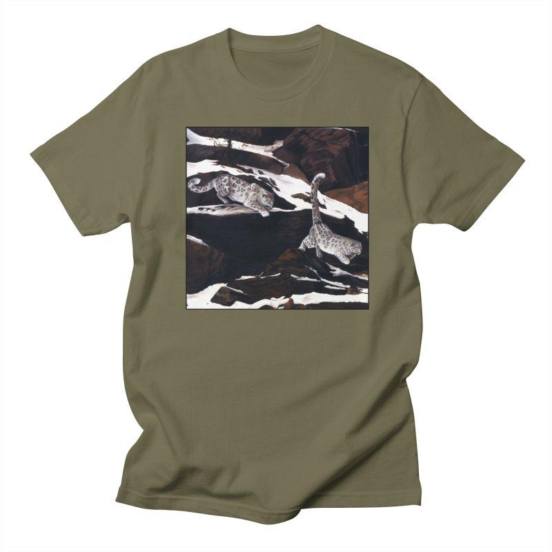 Cat Tails Men's Regular T-Shirt by Ferine Fire