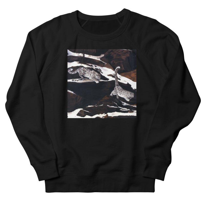 Cat Tails Men's French Terry Sweatshirt by Ferine Fire