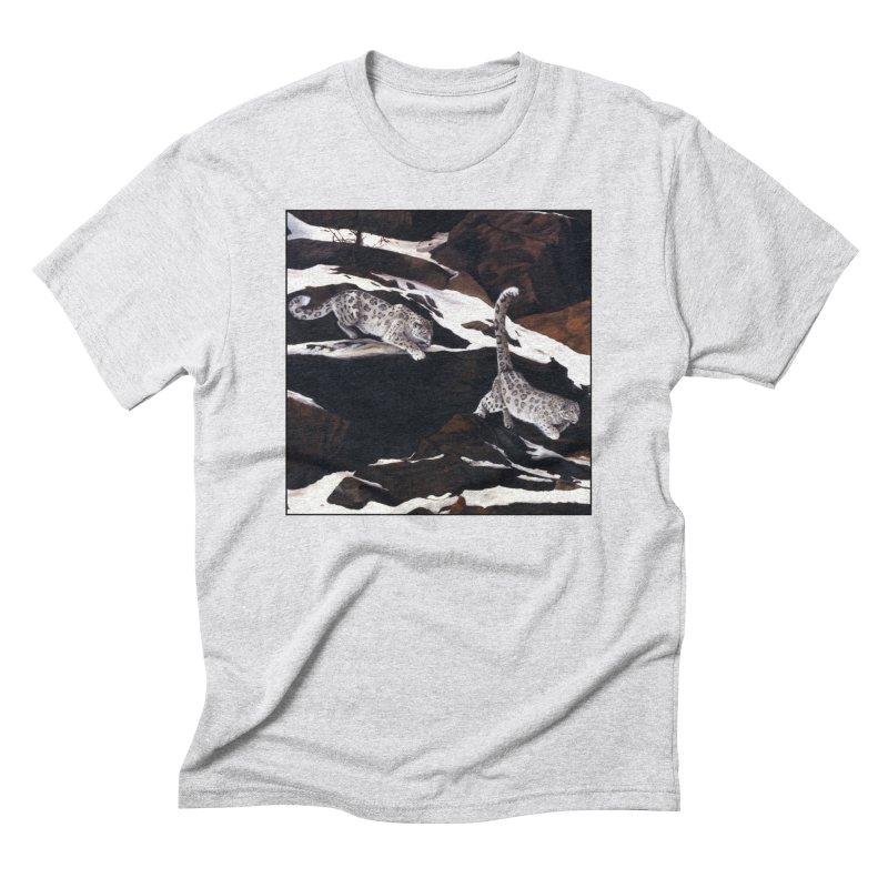 Cat Tails Men's Triblend T-Shirt by Ferine Fire