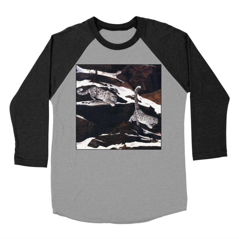 Cat Tails Women's Baseball Triblend Longsleeve T-Shirt by Ferine Fire