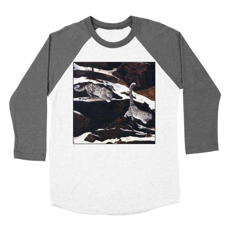 Cat Tails Men's Baseball Triblend Longsleeve T-Shirt by Ferine Fire