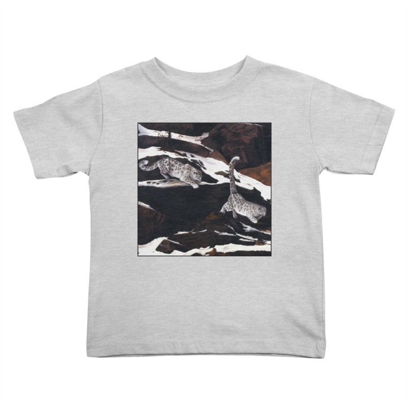 Cat Tails Kids Toddler T-Shirt by Ferine Fire