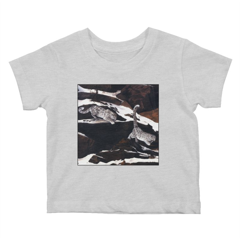 Cat Tails Kids Baby T-Shirt by Ferine Fire