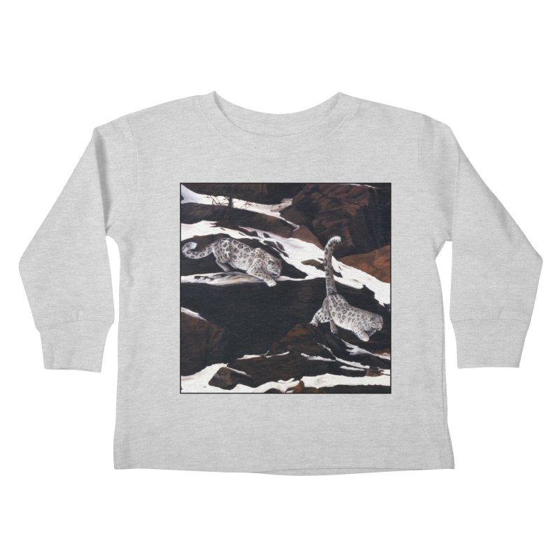 Cat Tails Kids Toddler Longsleeve T-Shirt by Ferine Fire
