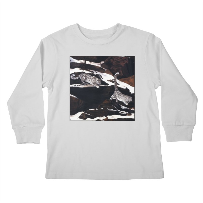 Cat Tails Kids Longsleeve T-Shirt by Ferine Fire