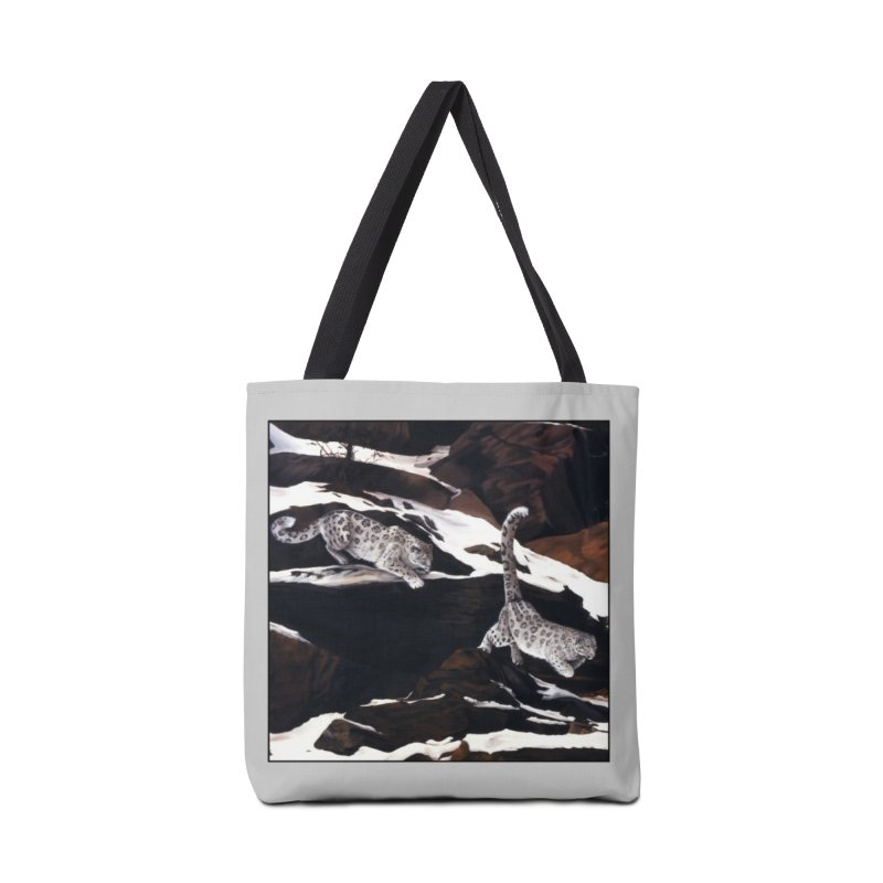 Cat Tails Accessories Tote Bag Bag by Ferine Fire