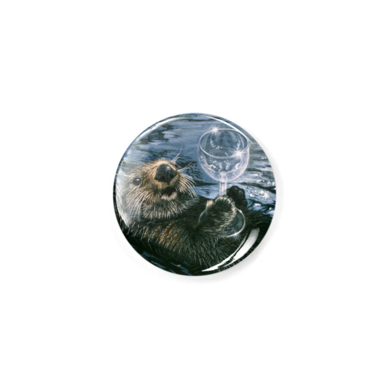 Ya Otter Relax Accessories Button by Ferine Fire