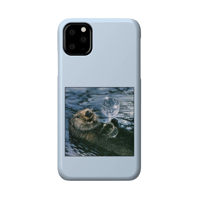 Ya Otter Relax Accessories Phone Case by Ferine Fire