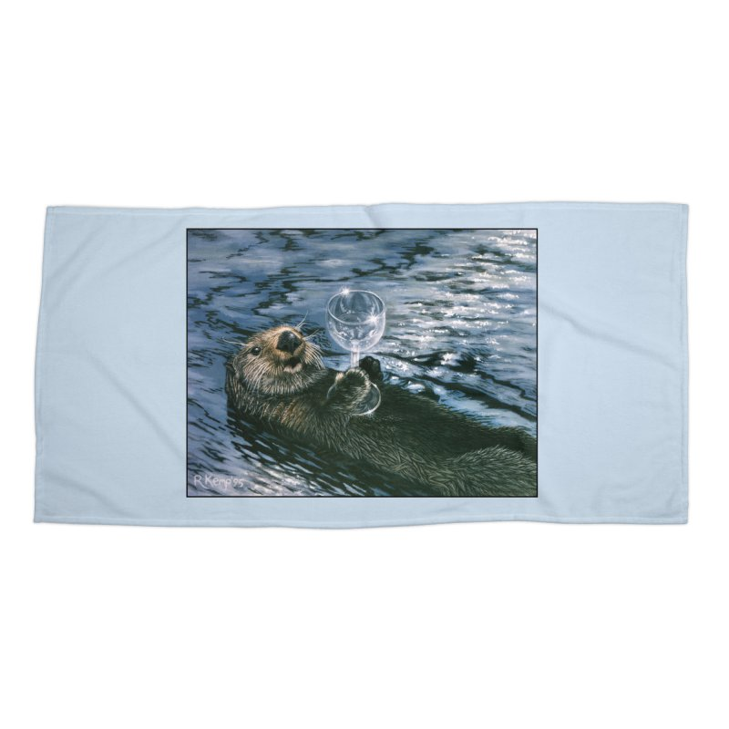 Ya Otter Relax Accessories Beach Towel by Ferine Fire