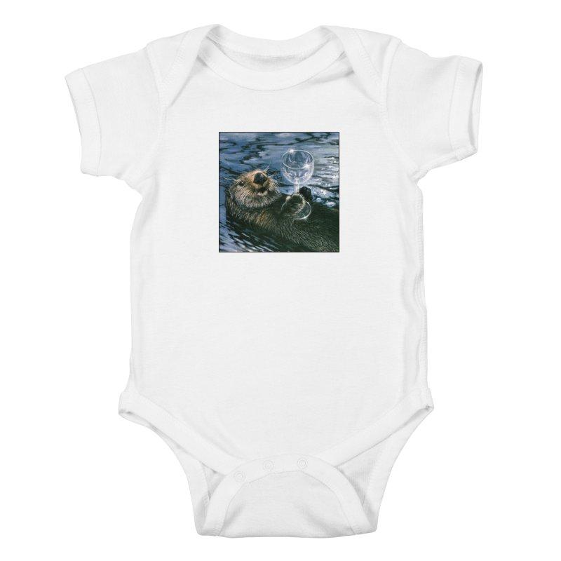 Ya Otter Relax Kids Baby Bodysuit by Ferine Fire