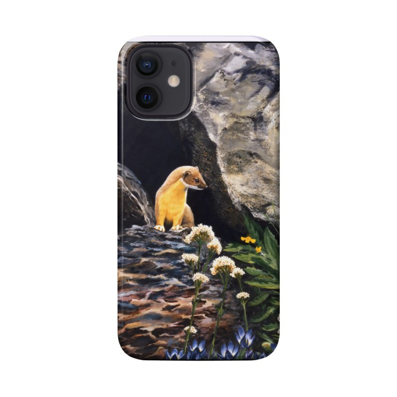 Springtime for Weasel Accessories Phone Case by Ferine Fire