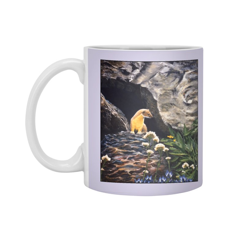 Springtime for Weasel Accessories Standard Mug by Ferine Fire