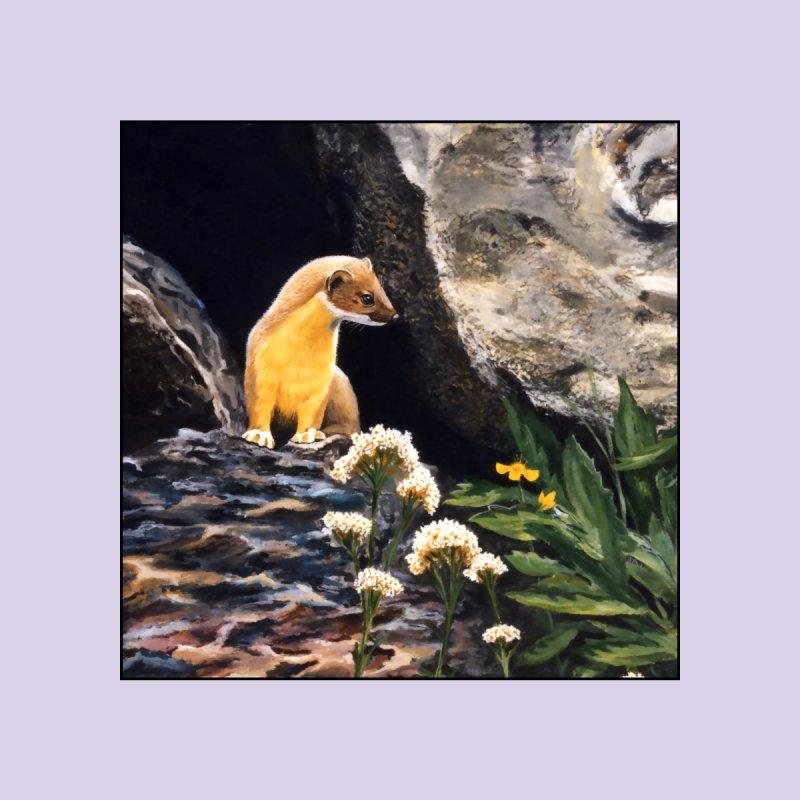 Springtime for Weasel Men's T-Shirt by Ferine Fire