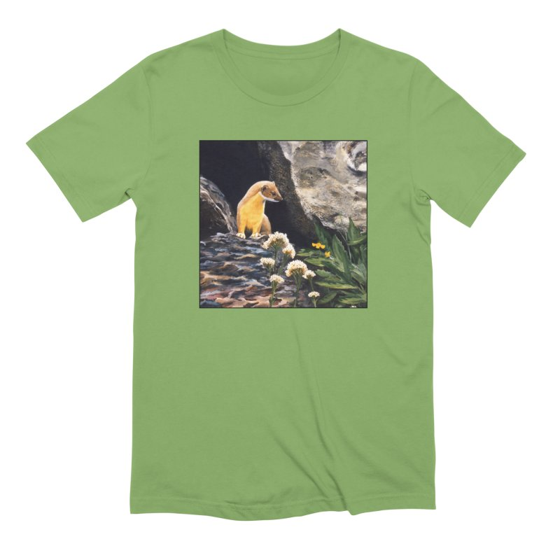 Springtime for Weasel Men's Extra Soft T-Shirt by Ferine Fire