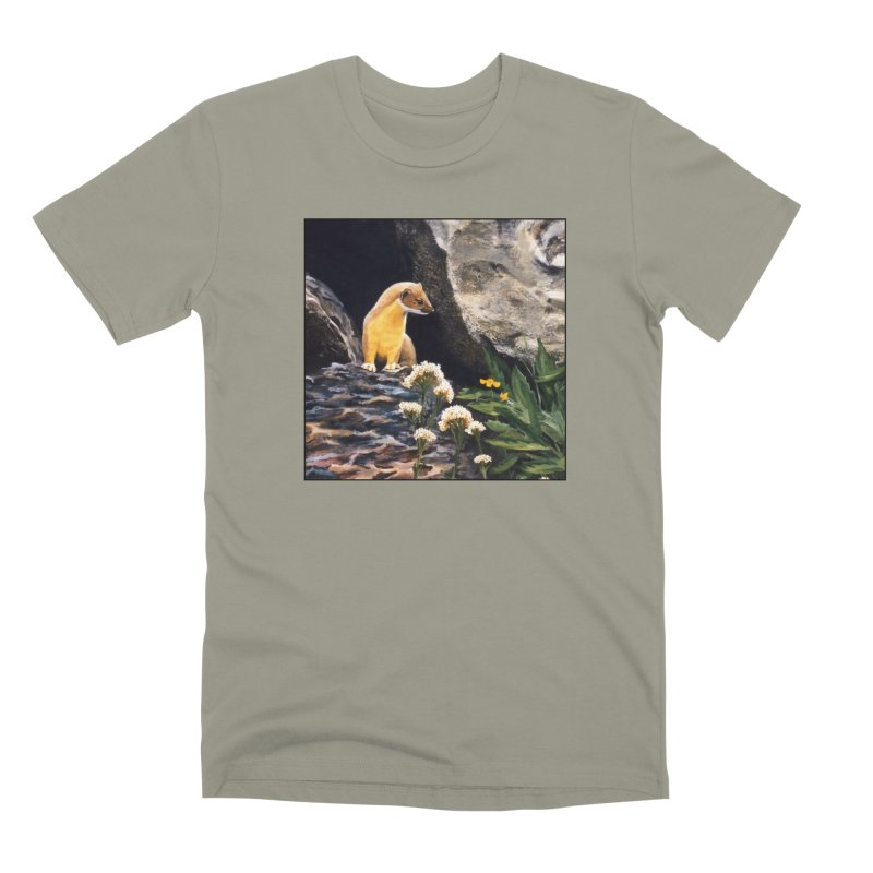 Springtime for Weasel Men's Premium T-Shirt by Ferine Fire