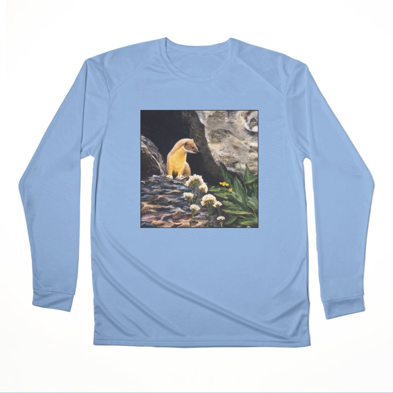 Springtime for Weasel Men's Performance Longsleeve T-Shirt by Ferine Fire