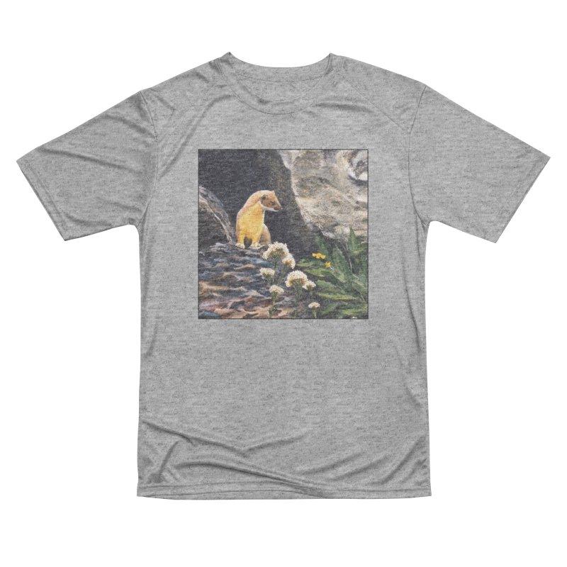Springtime for Weasel Women's Performance Unisex T-Shirt by Ferine Fire