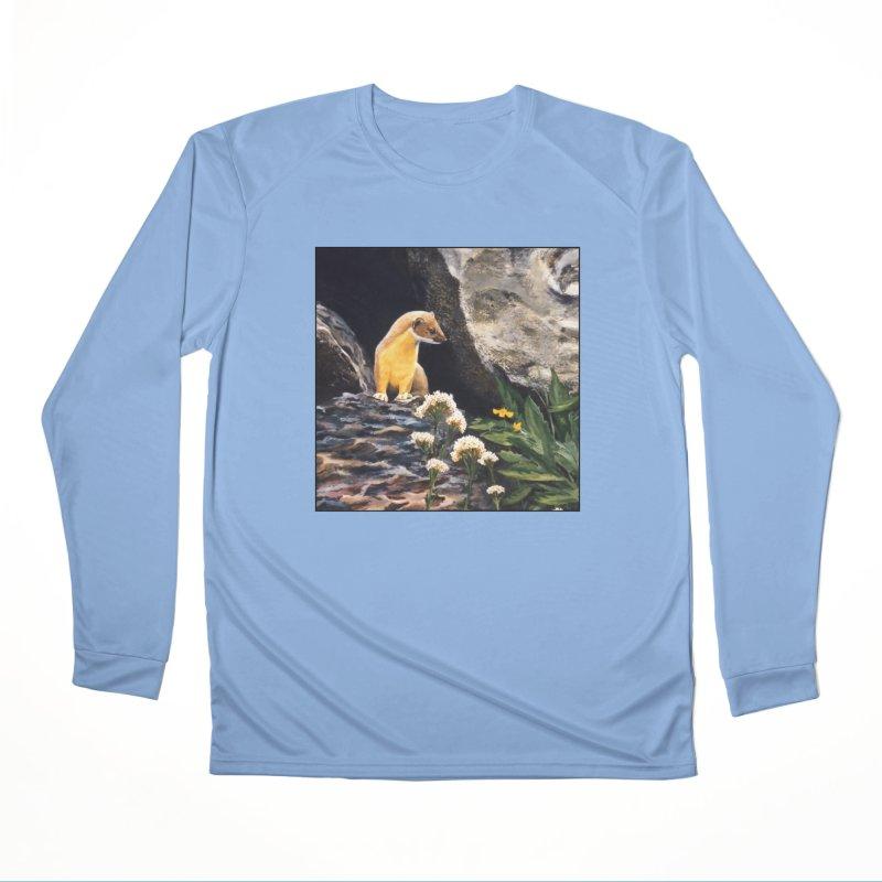 Springtime for Weasel Women's Performance Unisex Longsleeve T-Shirt by Ferine Fire