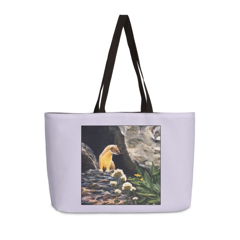 Springtime for Weasel Accessories Bag by Ferine Fire