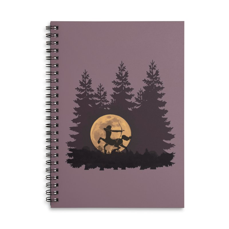 Hunter's Moon Accessories Notebook by Ferine Fire