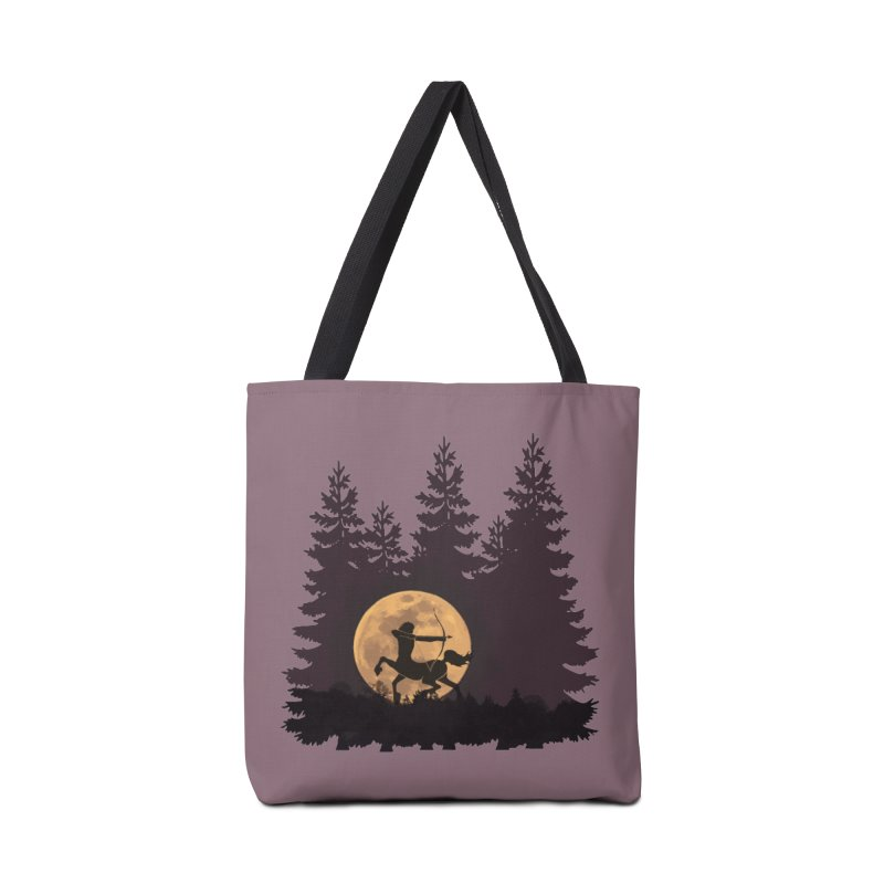 Hunter's Moon Accessories Tote Bag Bag by Ferine Fire
