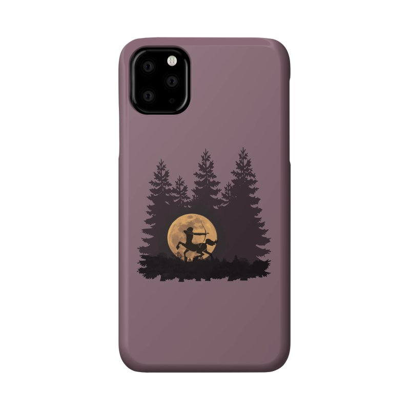 Hunter's Moon Accessories Phone Case by Ferine Fire