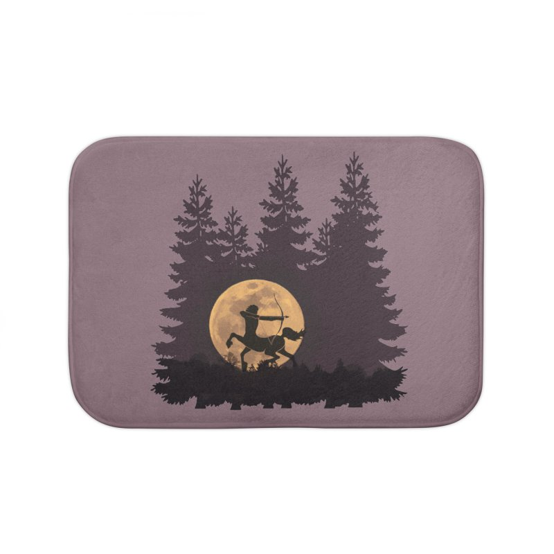 Hunter's Moon Home Bath Mat by Ferine Fire
