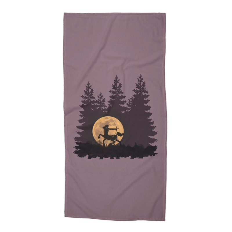 Hunter's Moon Accessories Beach Towel by Ferine Fire