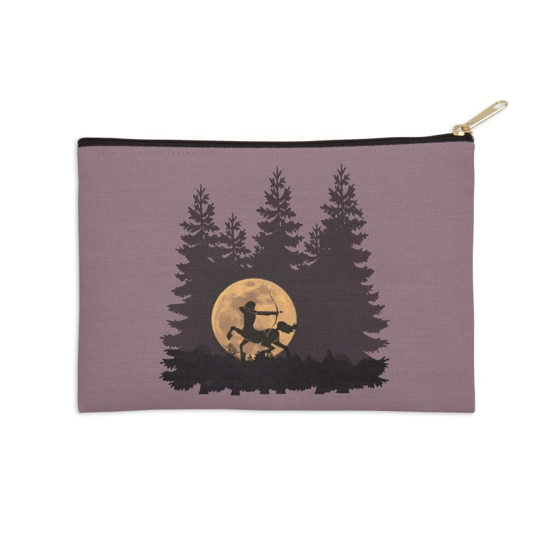 Hunter's Moon Accessories Zip Pouch by Ferine Fire