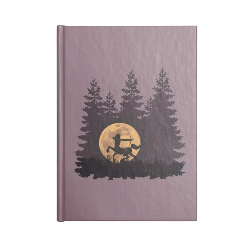 Hunter's Moon Accessories Lined Journal Notebook by Ferine Fire