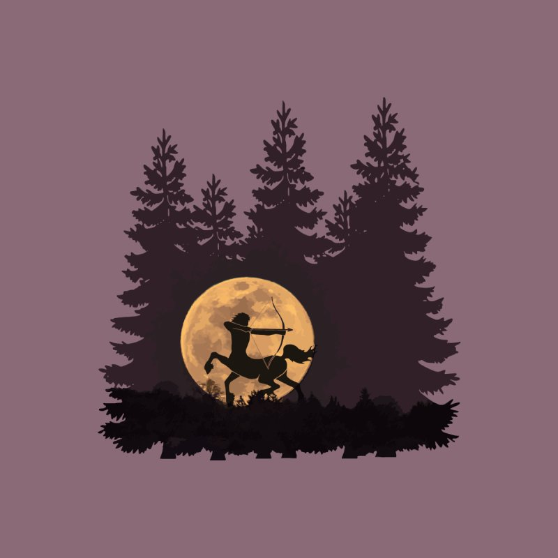 Hunter's Moon Men's T-Shirt by Ferine Fire