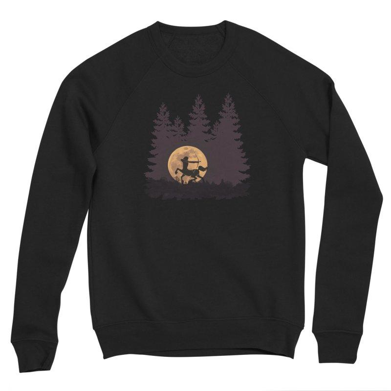 Hunter's Moon Women's Sponge Fleece Sweatshirt by Ferine Fire