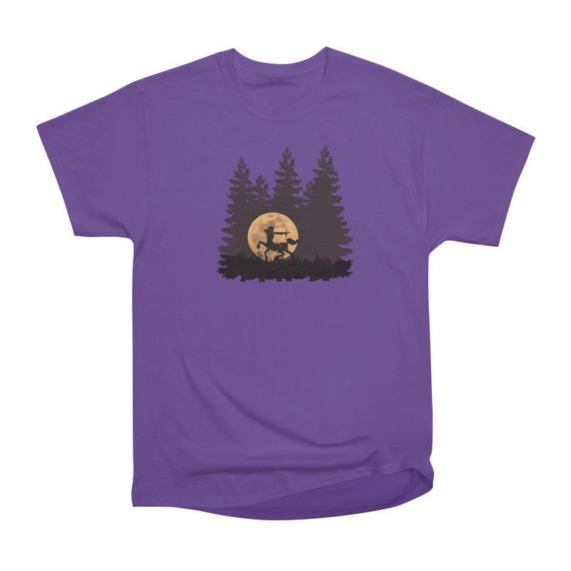 Hunter's Moon Women's Heavyweight Unisex T-Shirt by Ferine Fire