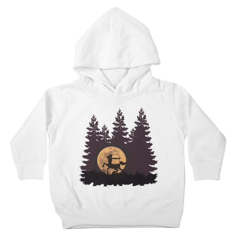 Hunter's Moon Kids Toddler Pullover Hoody by Ferine Fire